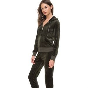 Juicy couture small green track suit